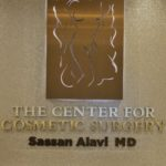 Sassan Alavi MD - Center for Cosmetic Surgery sign artwork